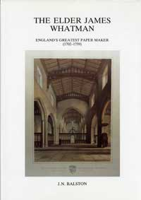 Cover of The Elder James Whatman Cover of Volume II